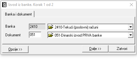 Izvod-biranje-banke